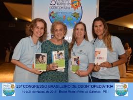 CRORJ e Doação de livros para formadores de opinião de Odontopediatria