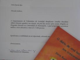 Doação de 500 livros ao projeto de Voluntariado Hospital Einstein Comunidade de Paraisóplois
