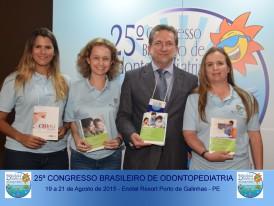 Doação de 1000 Guias Congresso Brasileiro de Odontopediatria - Pernambuco 2015