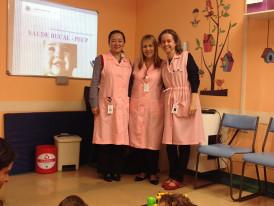 Voluntárias do Hospital Einstein Cominidade de Paraisóplois