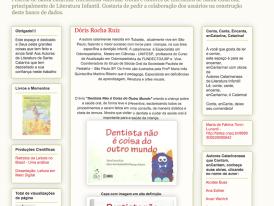 LÊ CONTA E CANTA: UFSC: LIVROS INFANTIS DENTISTA