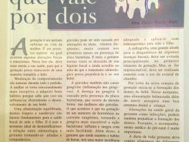 REVISTA BEBÊ & CRIANÇA: PRÉ-NATAL ODONTOLÓGICO